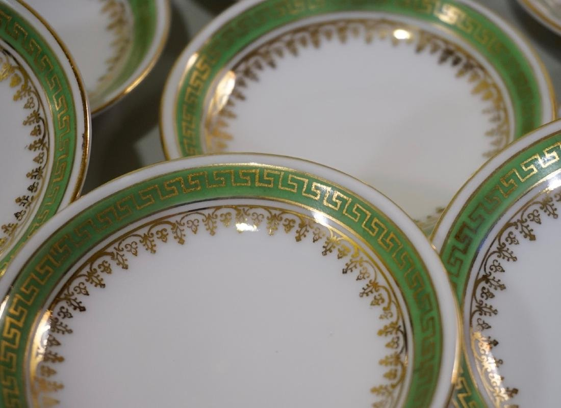 Miniature Dollhouse Plate Butter Pat Imperial Crown - 3