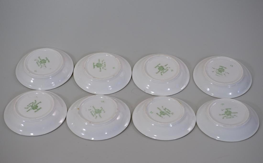 Miniature Dollhouse Plate Butter Pat Imperial Crown - 4