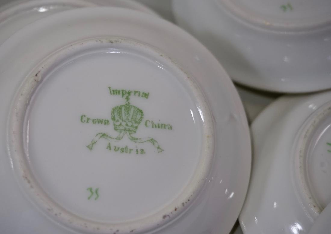 Miniature Dollhouse Plate Butter Pat Imperial Crown - 6