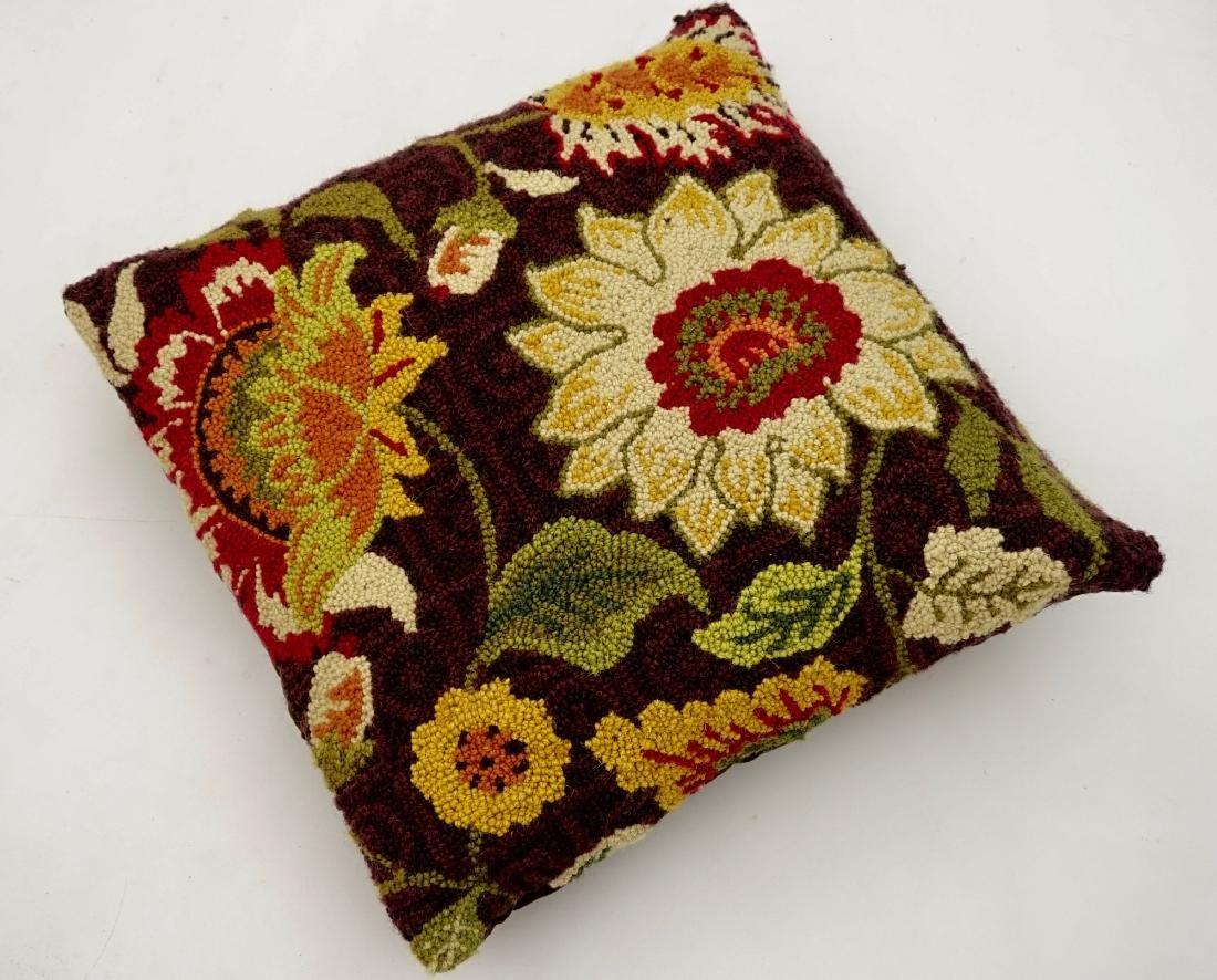 Vintage Fabric Designer Pillow