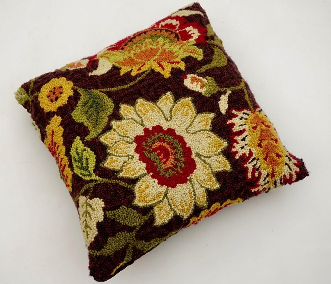 Vintage Fabric Designer Pillow - 2