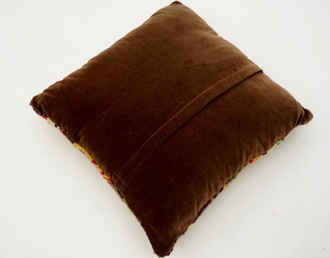 Vintage Fabric Designer Pillow - 4