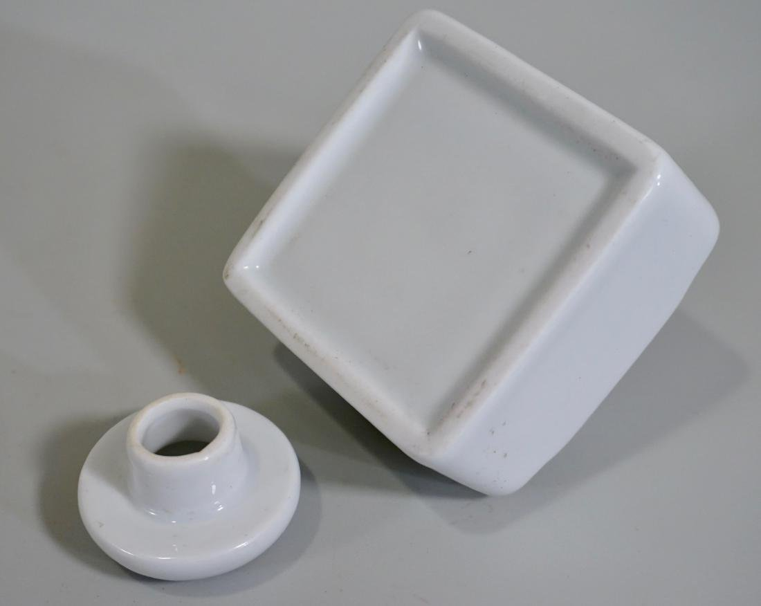 French White Porcelain Inkwell - 3