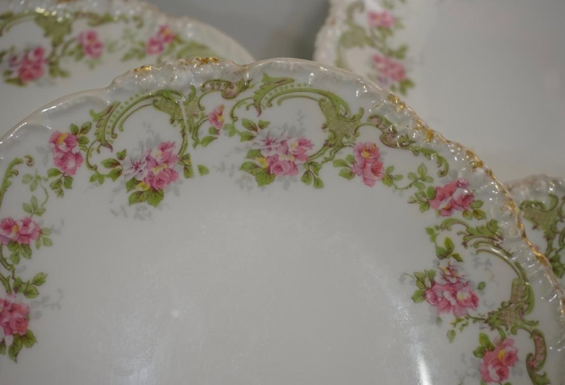 J Pouyat Porcelain Plates Lot of 4 - 2