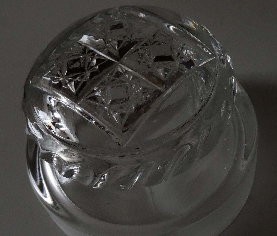 EAPG Pressed Glass Humidor Jar Tobacco Cigar Storage - 5