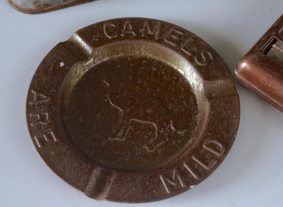 Vintage Smoking Tobacco Tins Cigarette Roller Camel Top - 2