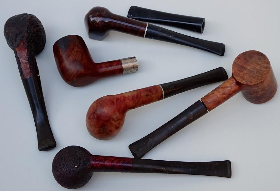 Lot of 6 Vintage Tobacco Smoking Pipes - 5