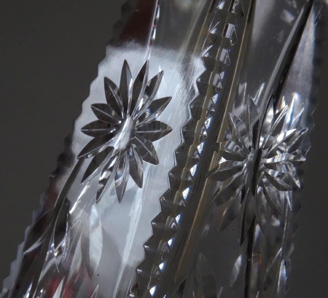 Fine Art Deco Crystal Perfume Bottle Atomizer - 5