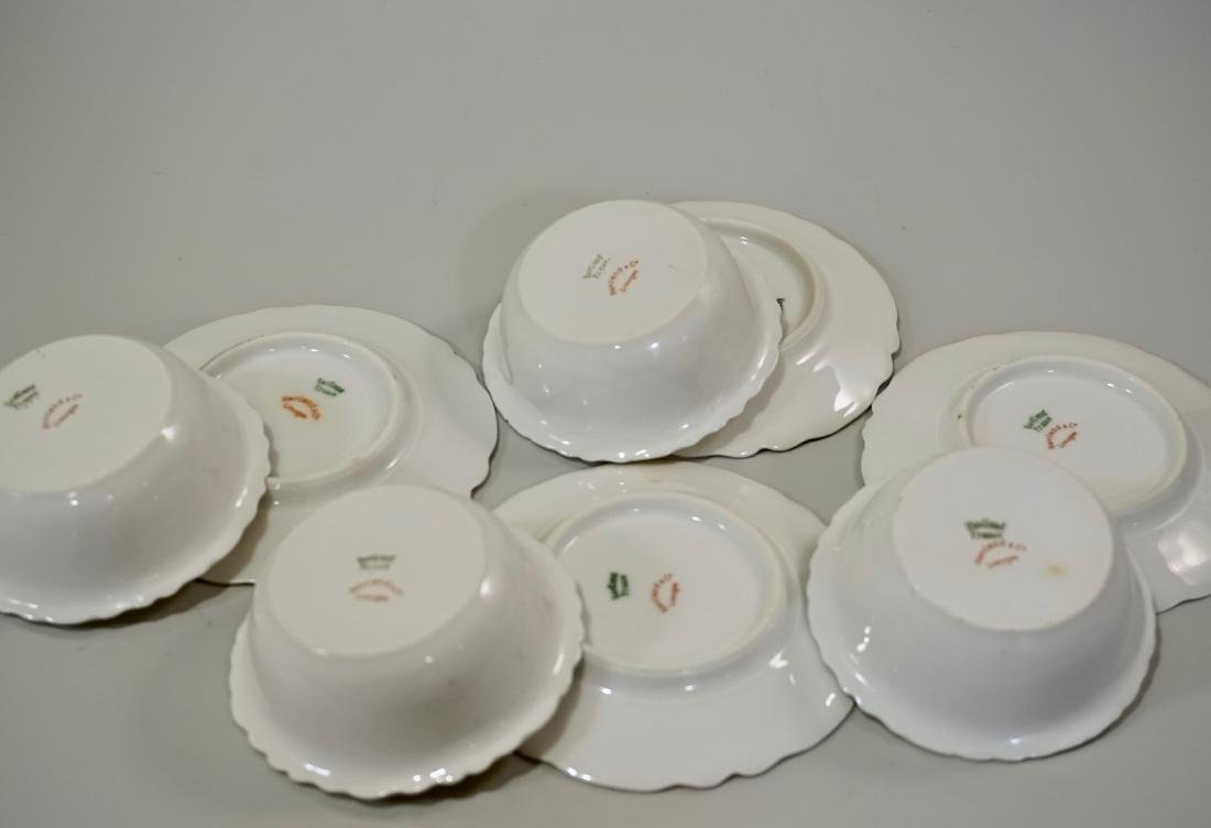Haviland Limoges China Ramekins Lot of 4 Sets Dessert - 4