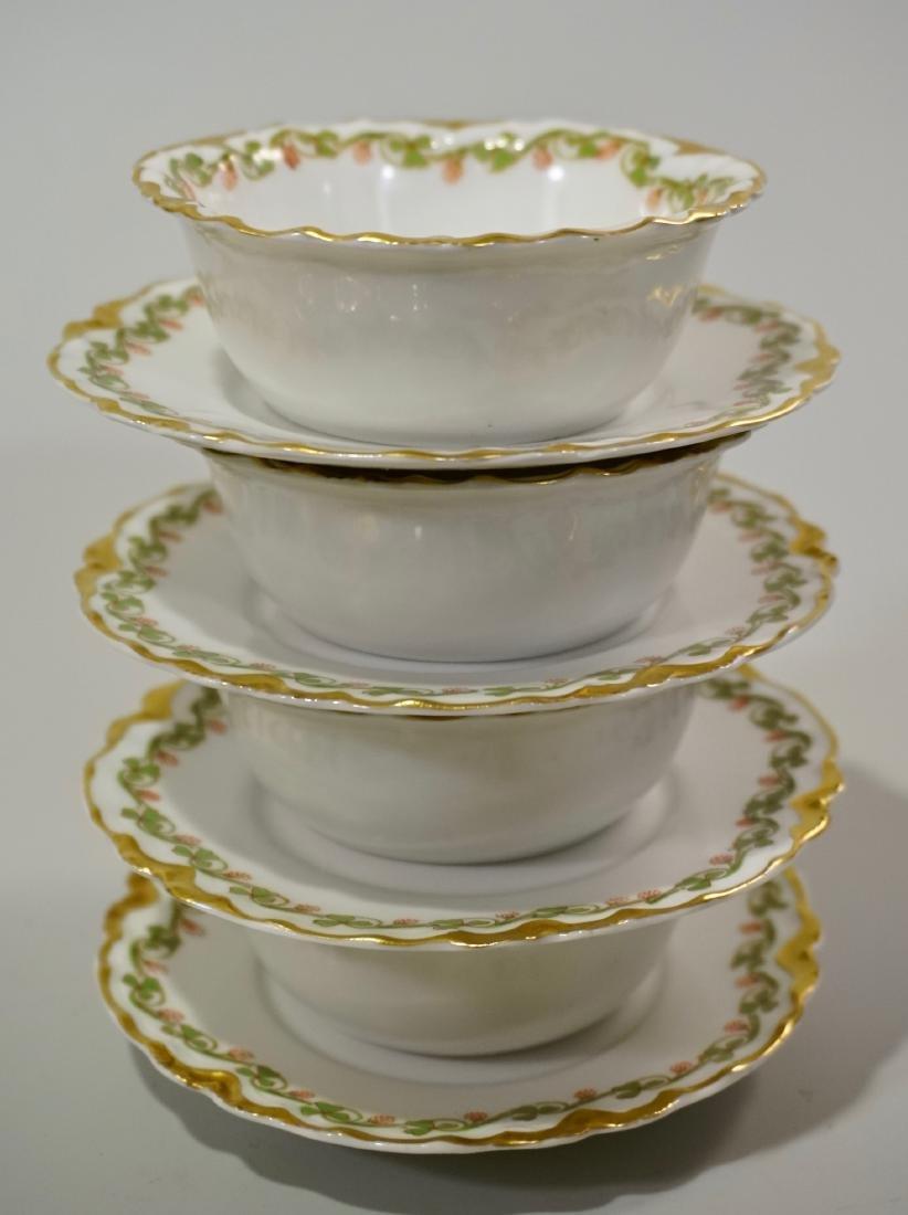 Haviland Limoges China Ramekins Lot of 4 Sets Dessert - 6