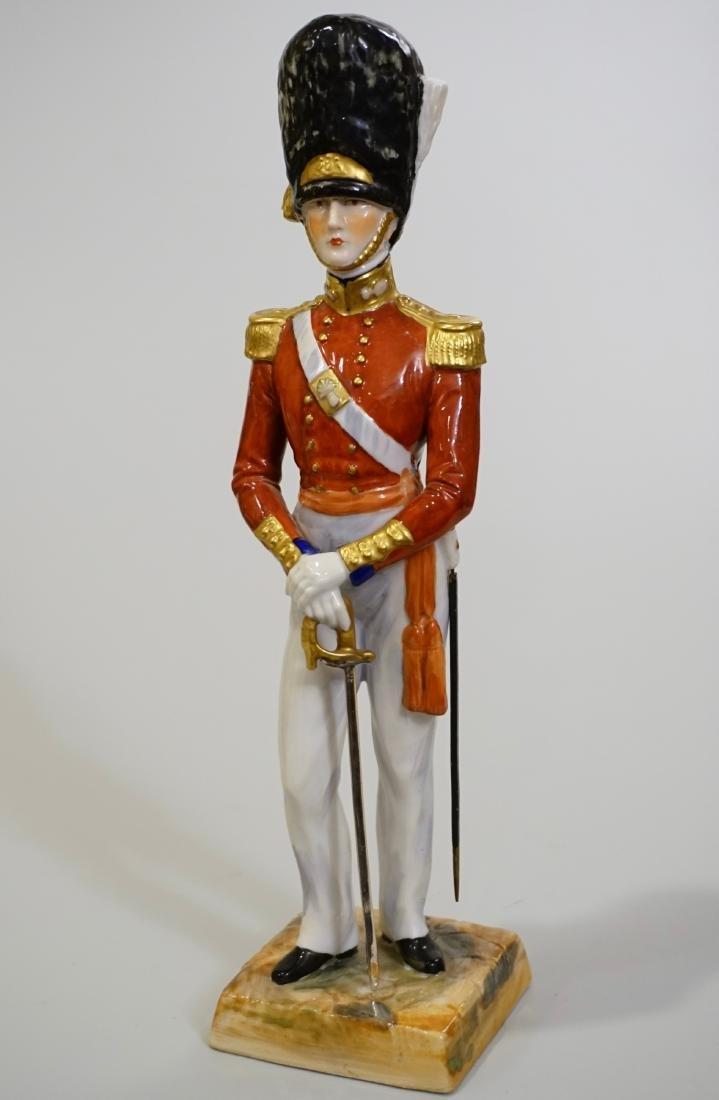 Dresden Porcelain Officer Grenadier 1840 Uniform Summer