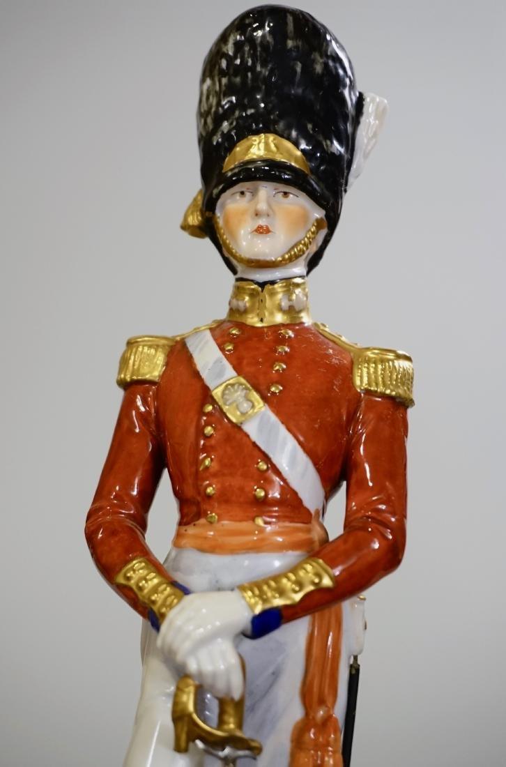 Dresden Porcelain Officer Grenadier 1840 Uniform Summer - 2