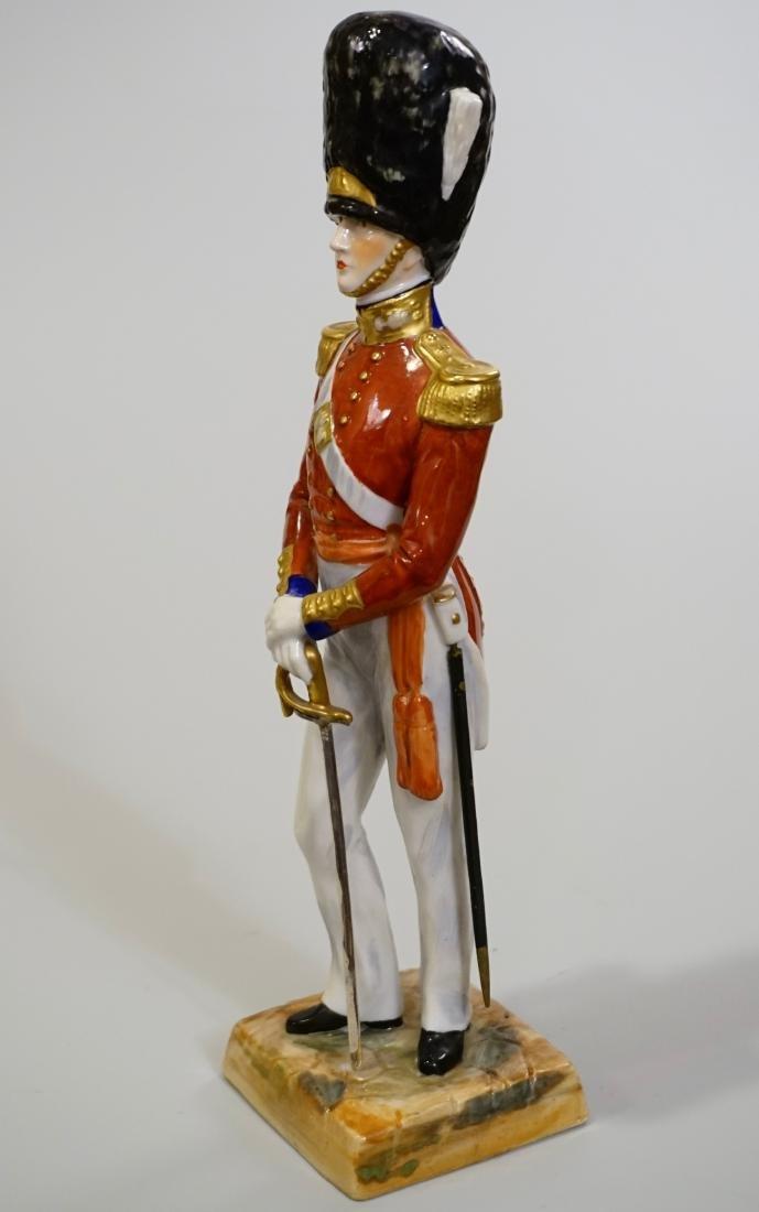 Dresden Porcelain Officer Grenadier 1840 Uniform Summer - 3