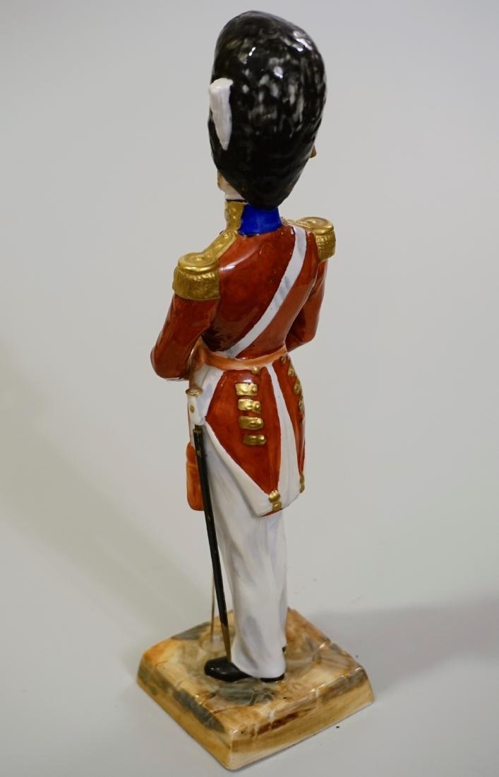 Dresden Porcelain Officer Grenadier 1840 Uniform Summer - 4