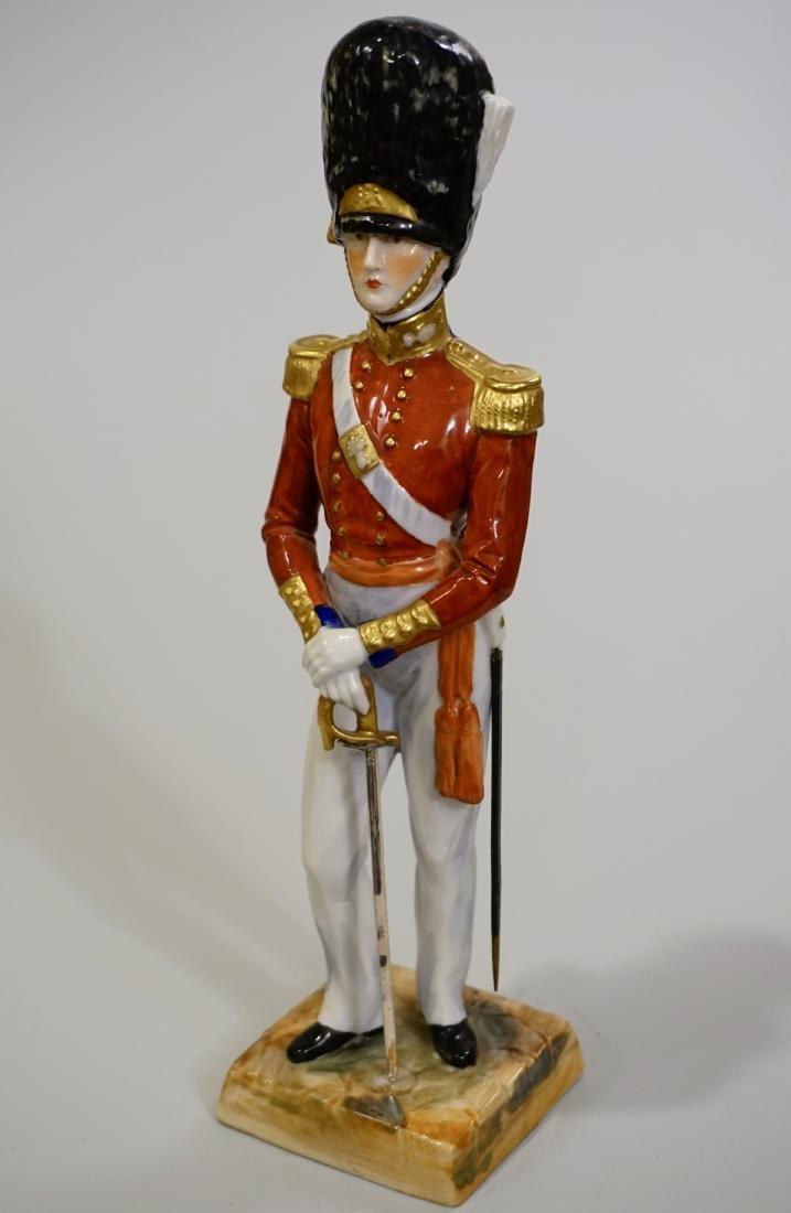 Dresden Porcelain Officer Grenadier 1840 Uniform Summer - 6