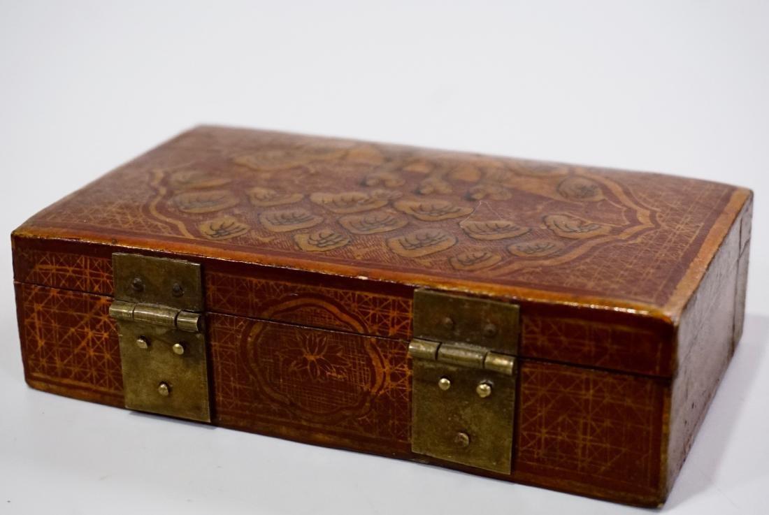 Chinese Hand Painted Jewelry Trinket Box - 4