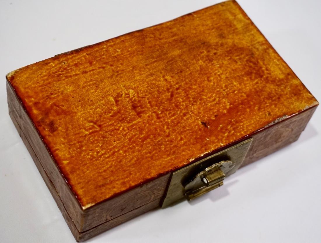 Chinese Hand Painted Jewelry Trinket Box - 6