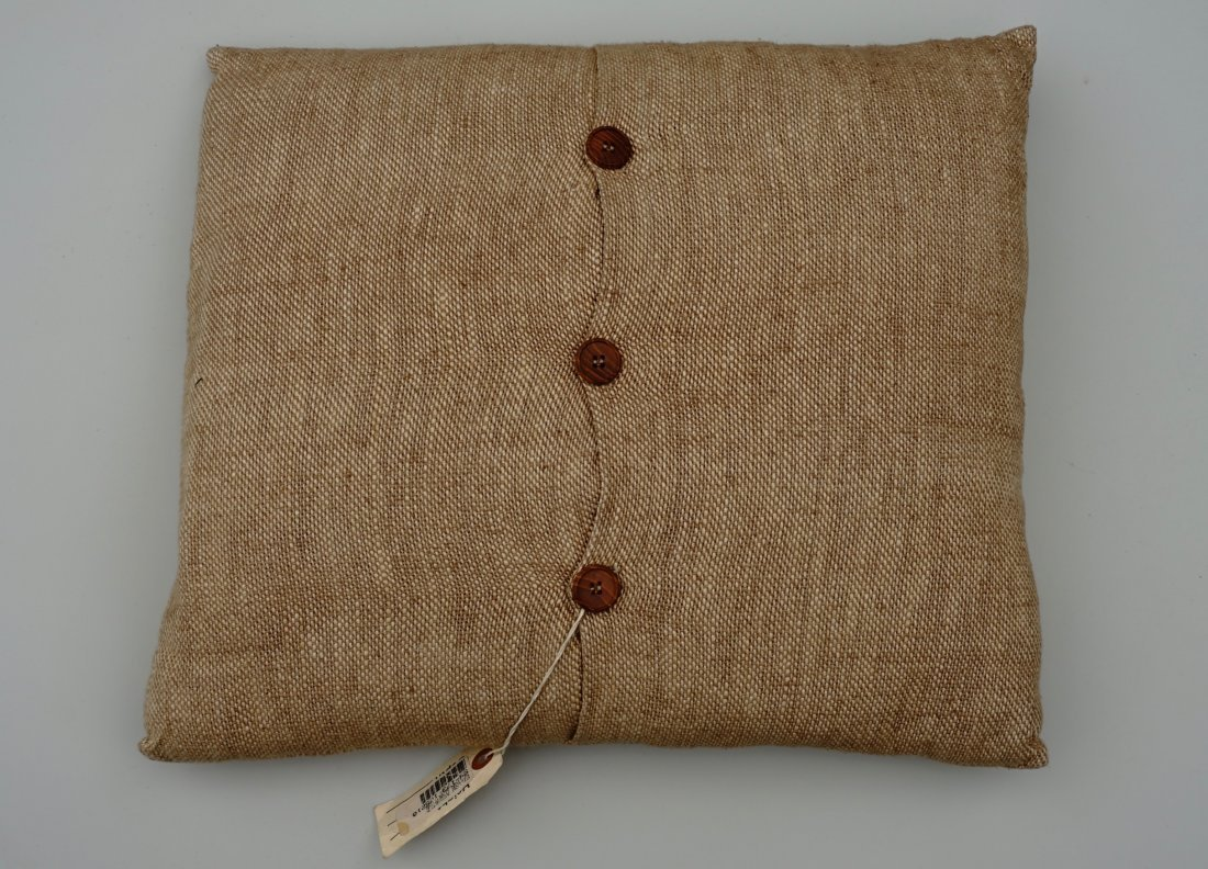 Custom Made Designer Taupe Couch Pillow