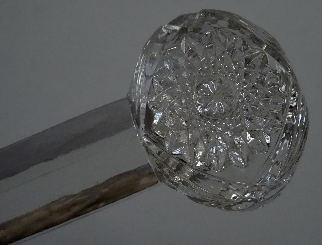 Pressed Glass EAPG Dumbbell Knife Rest - 4