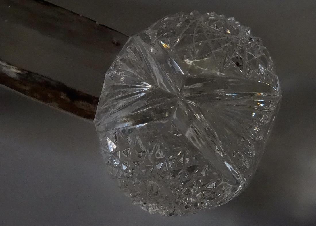 Pressed Glass EAPG Dumbbell Knife Rest - 6