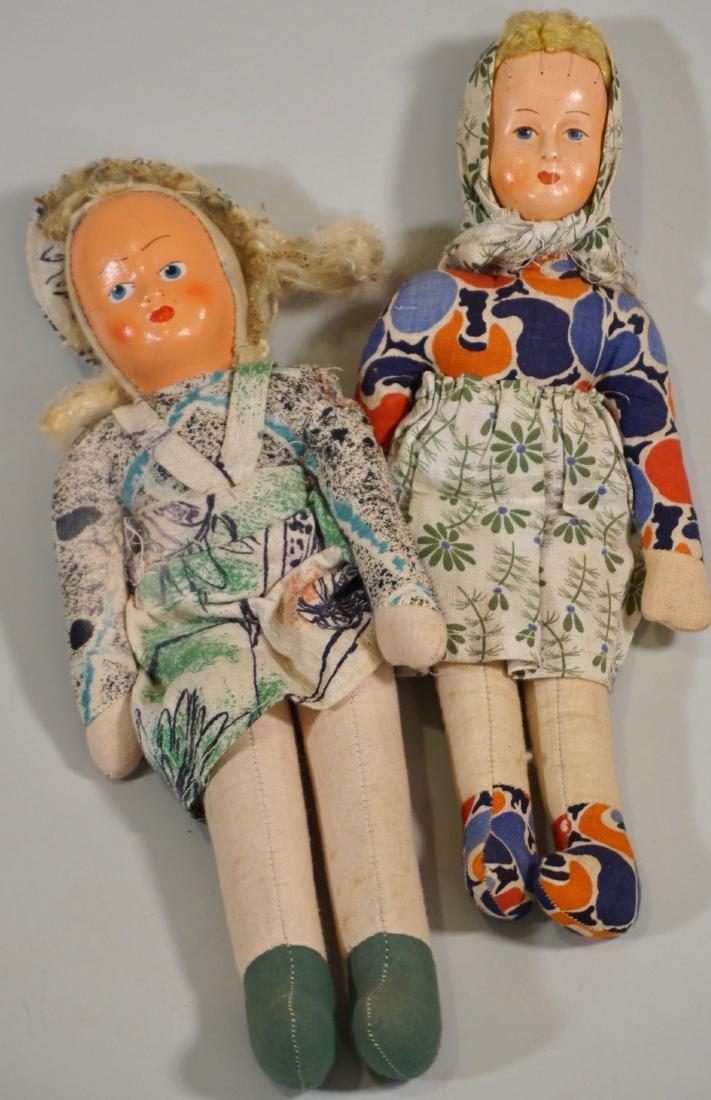 Vintage Polish Dolls Lot of 2