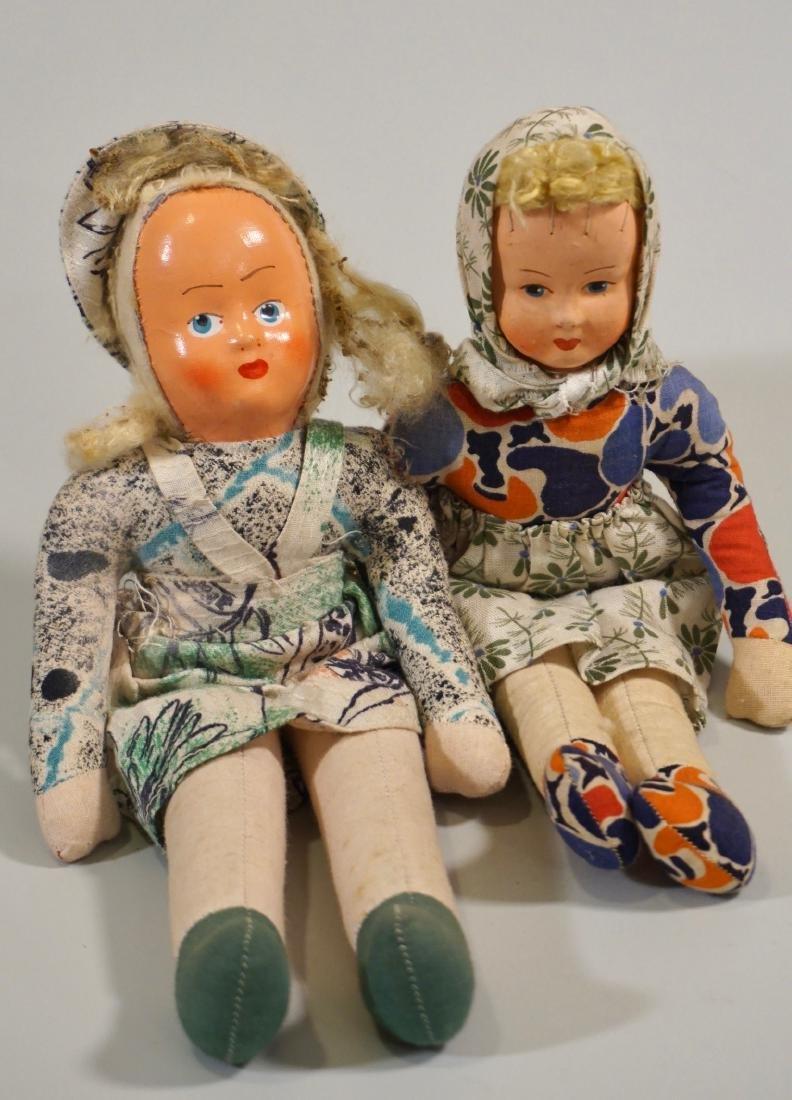 Vintage Polish Dolls Lot of 2 - 2