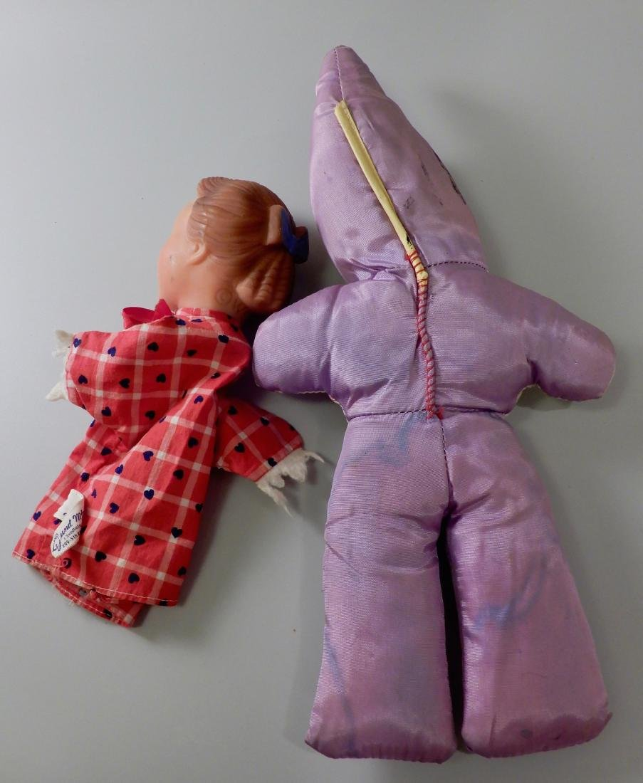 Hand Puppet and Vintage Baby Doll - 2