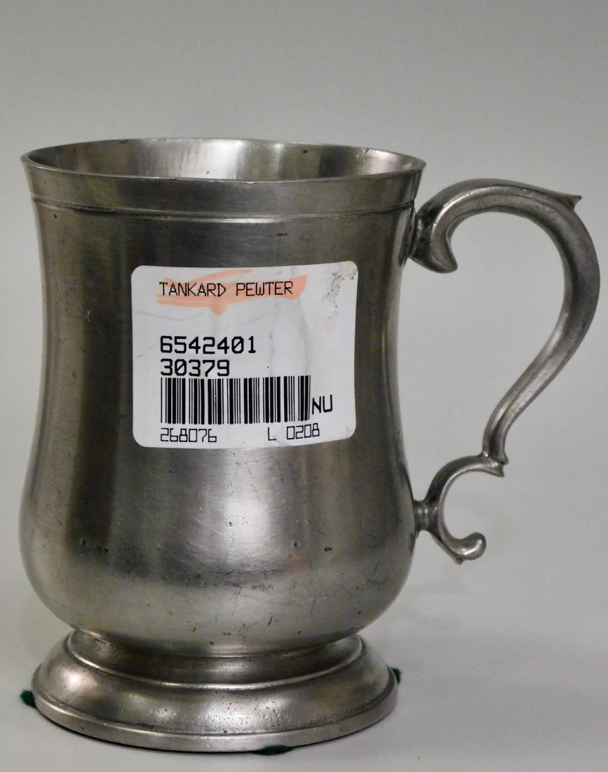 Italian Pewter Mug Tankard - 2