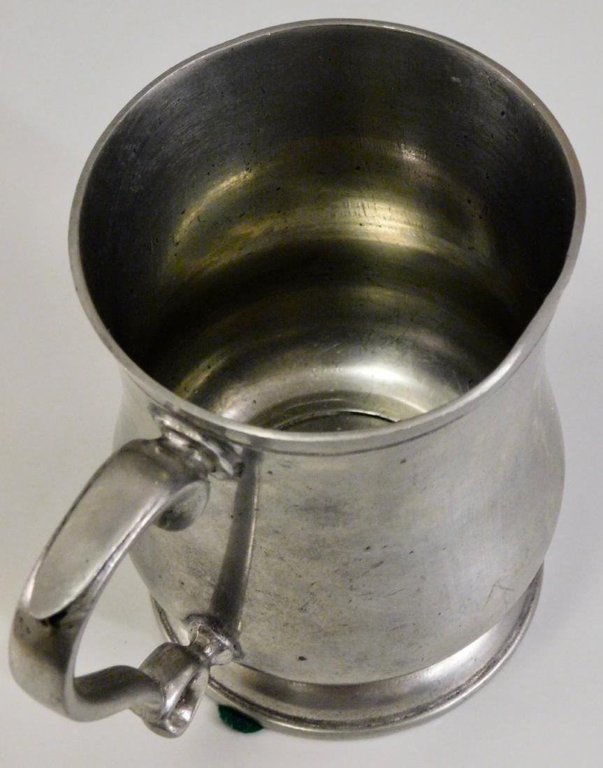Italian Pewter Mug Tankard - 3