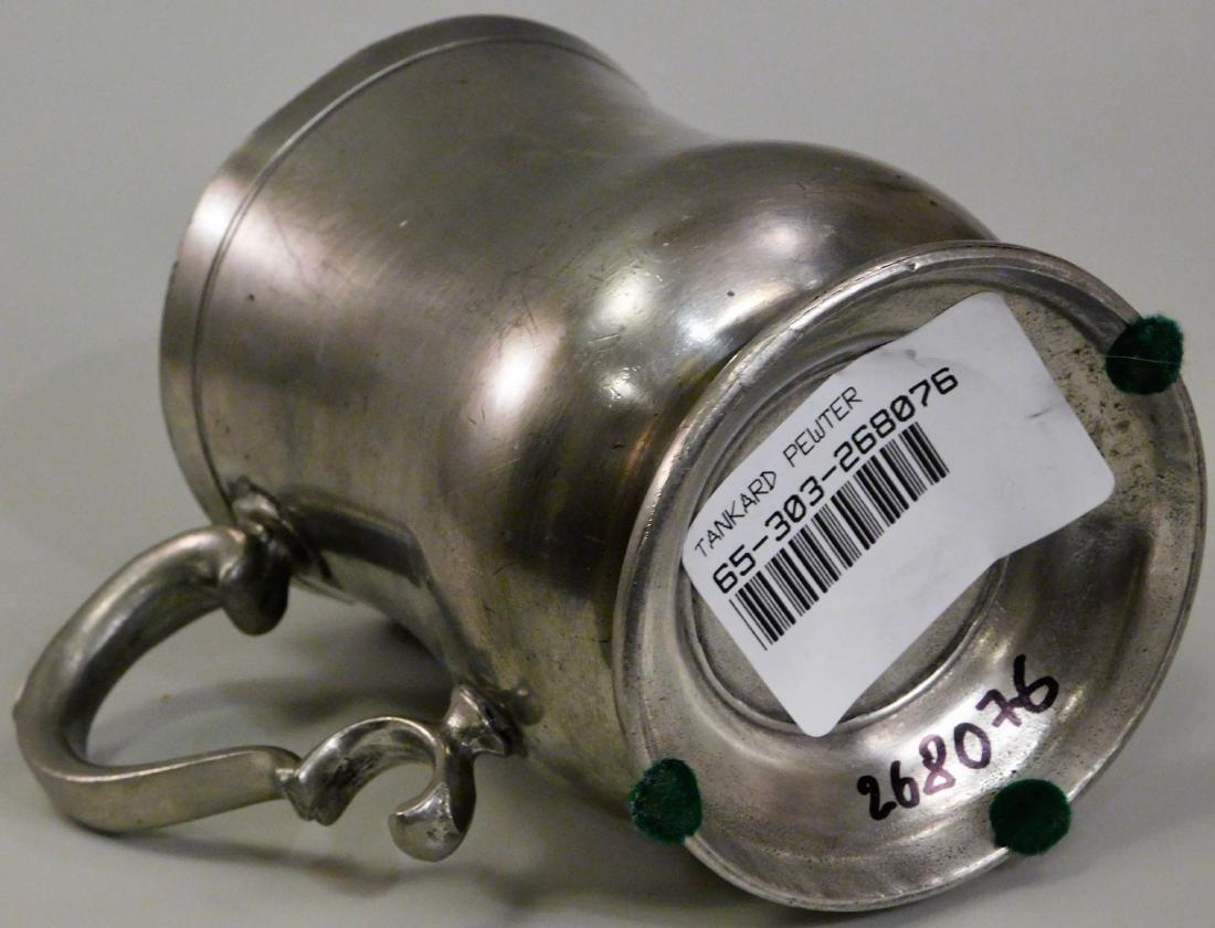 Italian Pewter Mug Tankard - 4