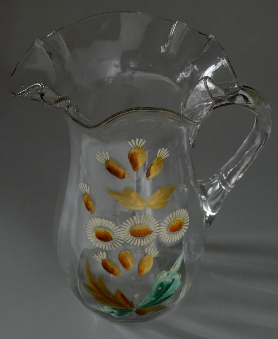 Early 20th Century Vintage Water Lemonade Pitcher - 2