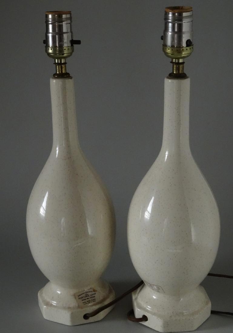 Mid Century Modern Design Phil Mar Pottery Table Lamp P - 3