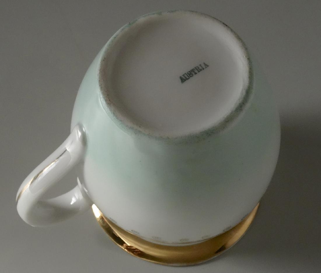 Antique c 1910 Neoclassical Austrian Pitcher Milk Jug - 6