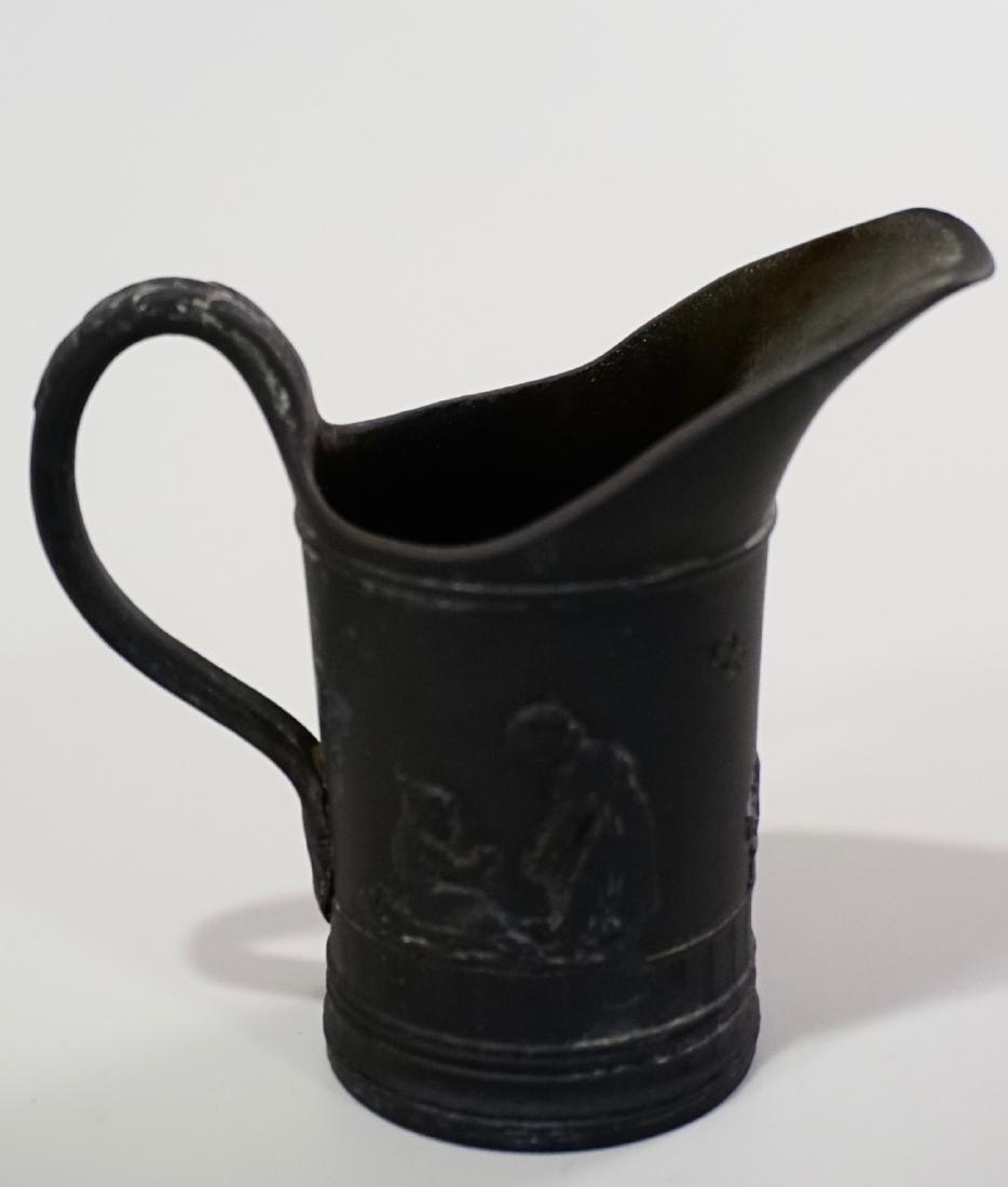 Wedgwood Black Basalt Cream Jug Creamer c.18 Century