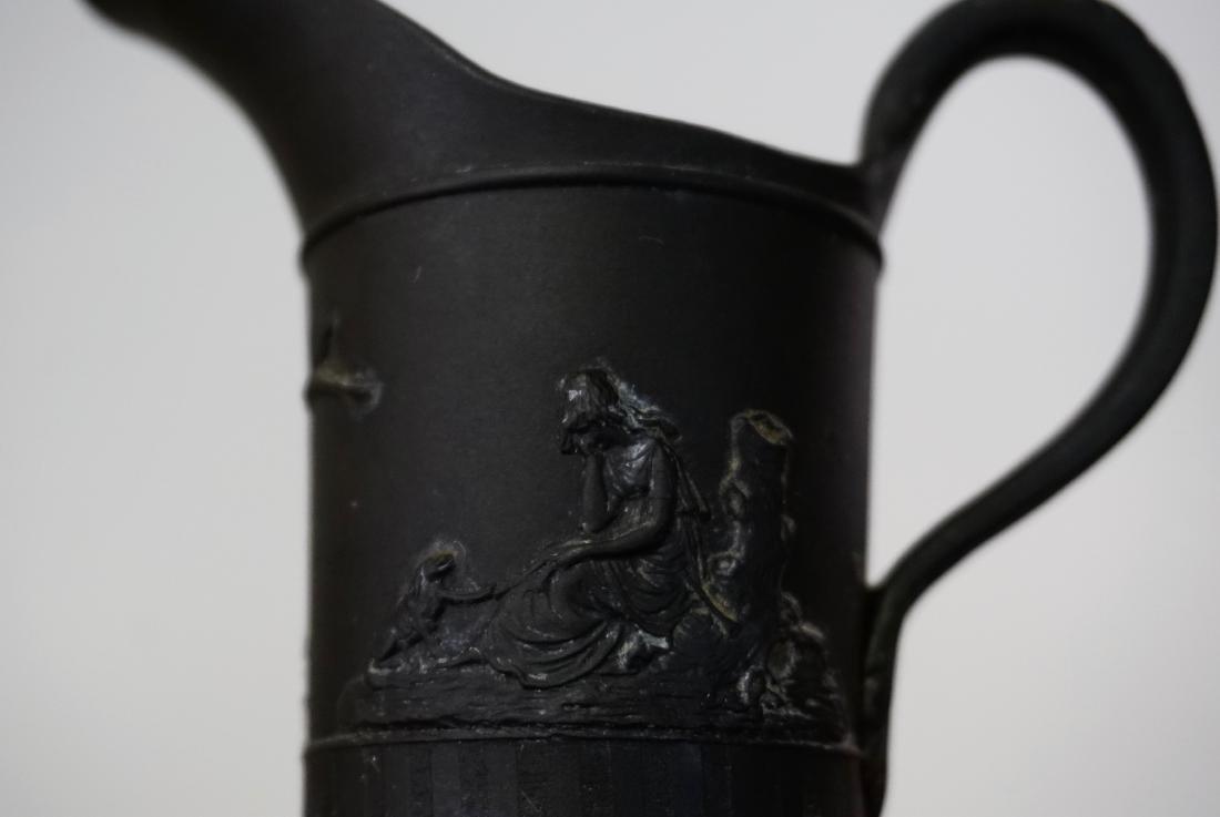 Wedgwood Black Basalt Cream Jug Creamer c.18 Century - 5