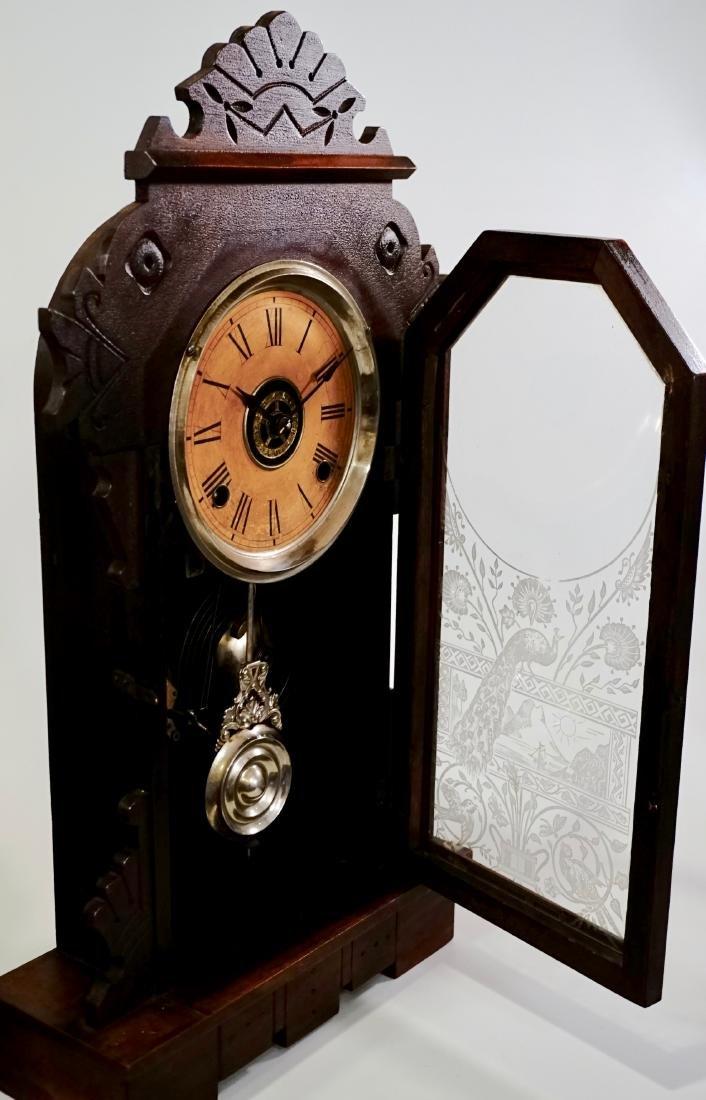 Sessions Eastlake Mantle Shelf Kitchen Alarm Clock - 10