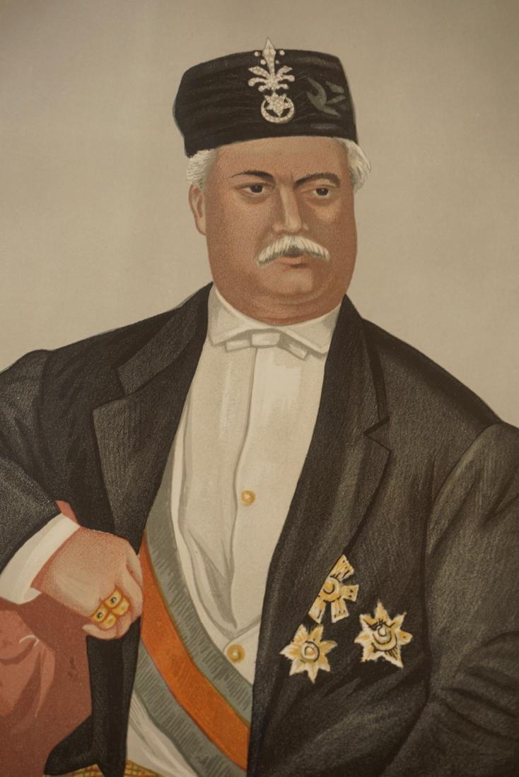 Vanity Fair Portrait Print Sultan of Johor Sir Abu - 3