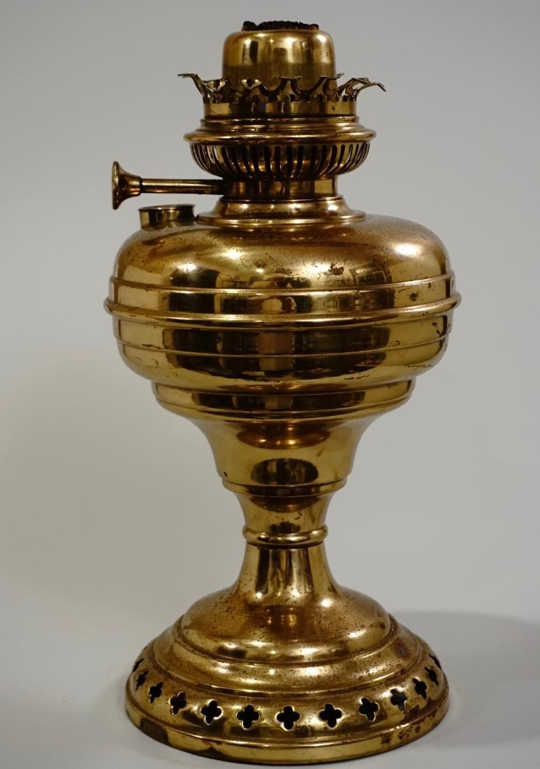 Matador Brass Kerosene Lamp L & B The Lampe Belge - 2