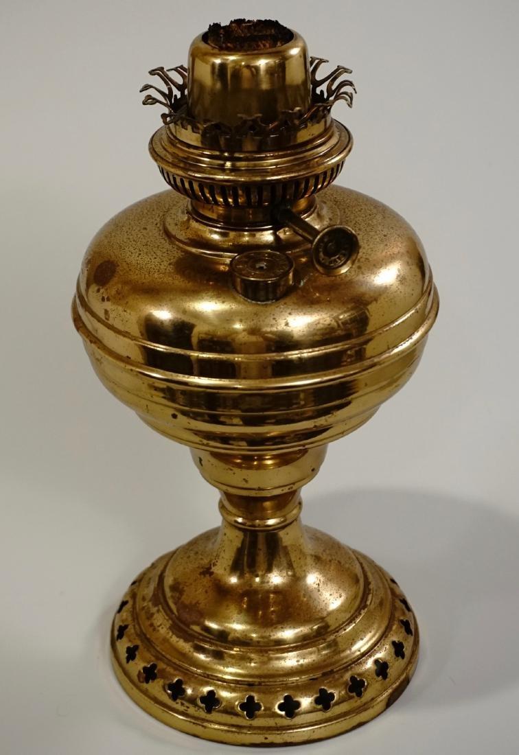 Matador Brass Kerosene Lamp L & B The Lampe Belge - 3