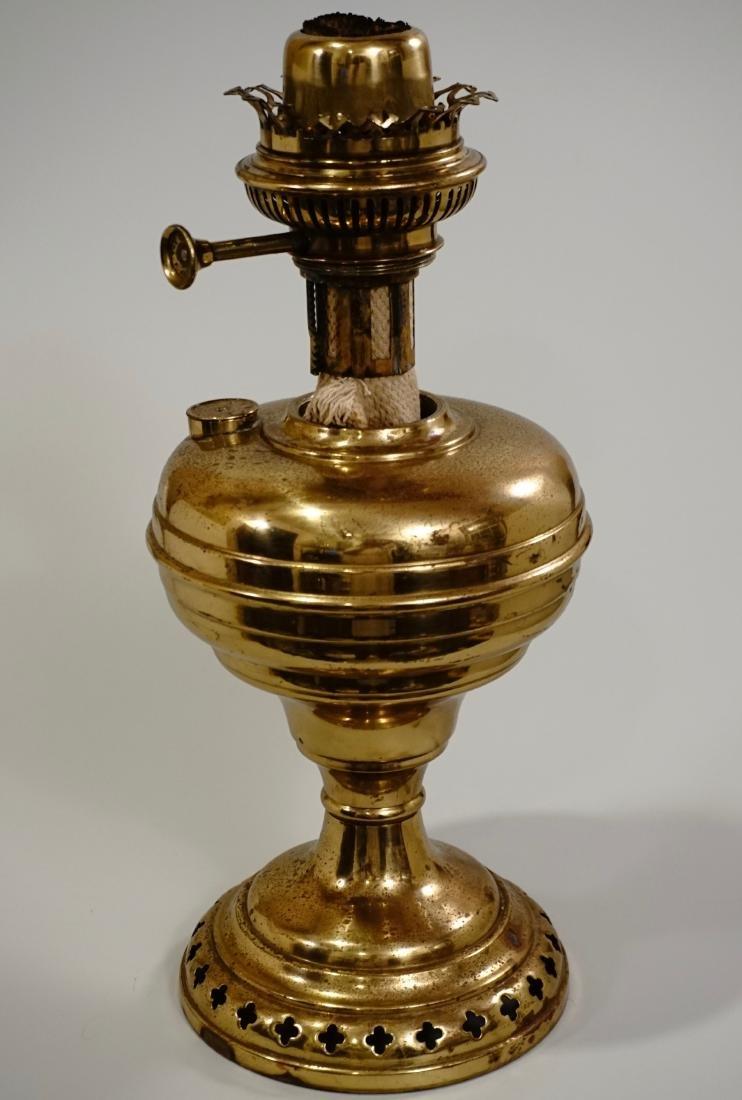 Matador Brass Kerosene Lamp L & B The Lampe Belge - 5
