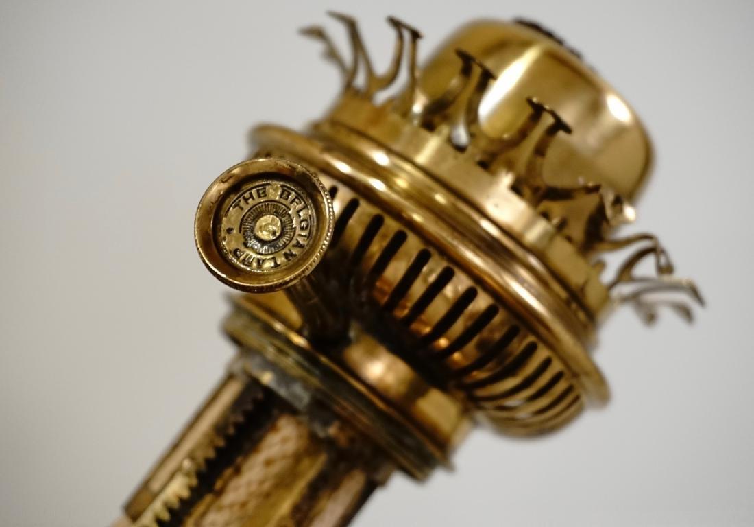 Matador Brass Kerosene Lamp L & B The Lampe Belge - 6