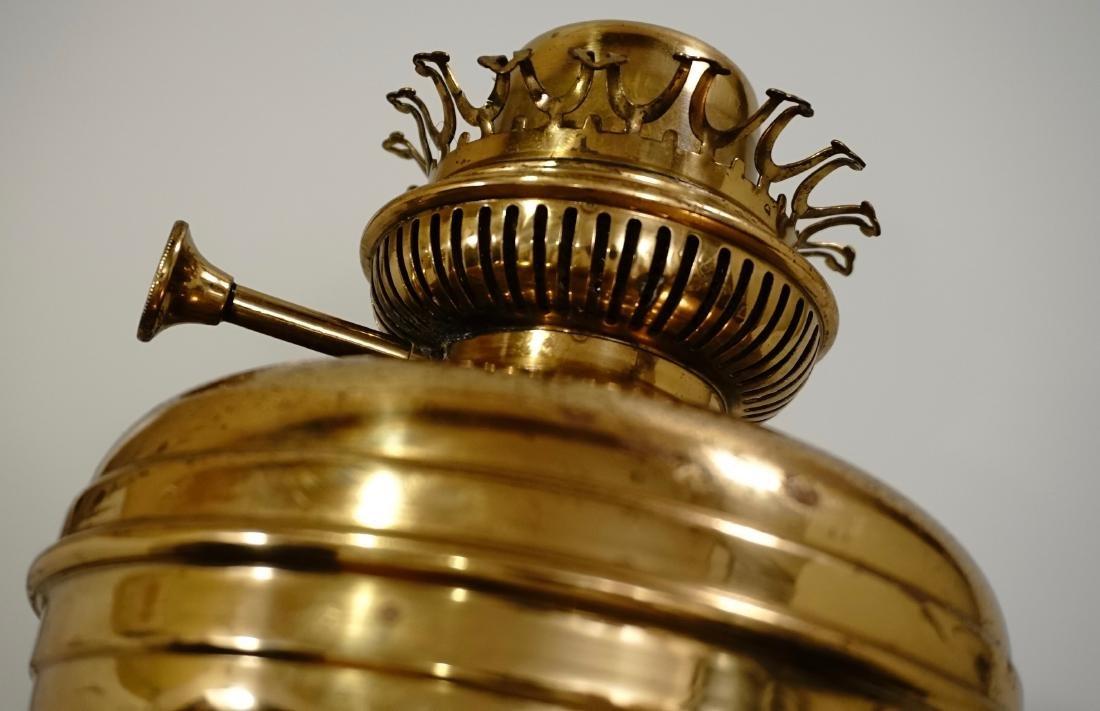Matador Brass Kerosene Lamp L & B The Lampe Belge - 8