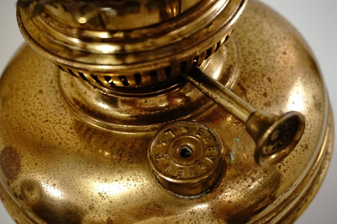 Matador Brass Kerosene Lamp L & B The Lampe Belge - 9