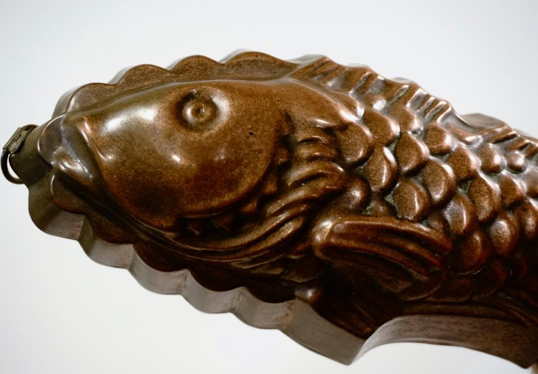 Vintage Kitchen Fish Mold Wall Plaque - 4