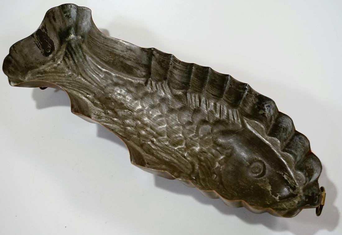 Vintage Kitchen Fish Mold Wall Plaque - 7