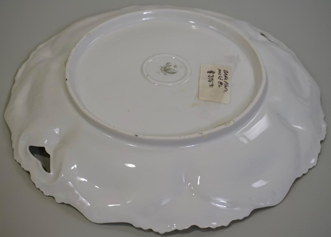 Antique RS Prussia Cake Platter 82 Mold - 5