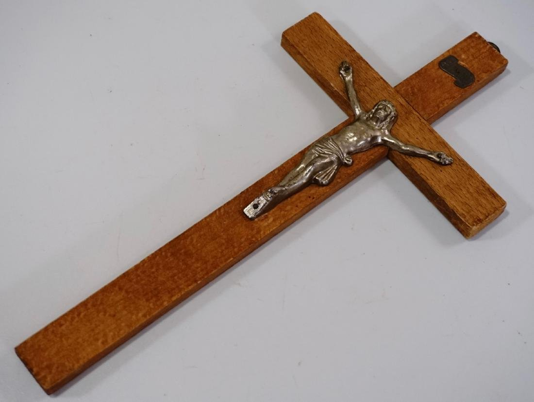 French Wall Cross Vintage Crucifix