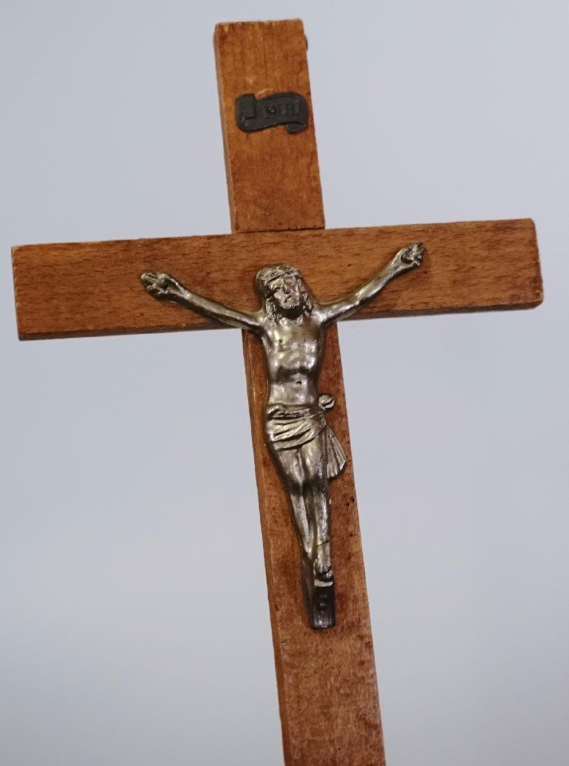 French Wall Cross Vintage Crucifix - 2