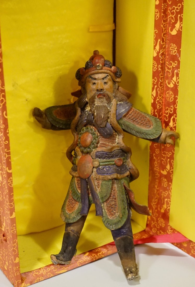 Oriental Asian Figurine Boxed Statue