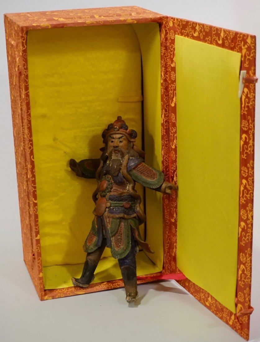 Oriental Asian Figurine Boxed Statue - 2